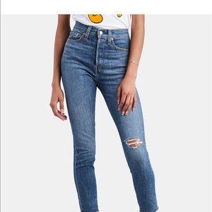 NWT Levi's wedgie skinny jeans